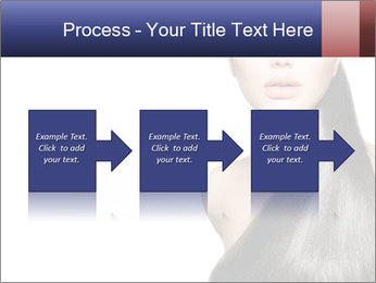 Beauty Brunette Fashion Model PowerPoint Template - Slide 88