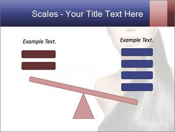Beauty Brunette Fashion Model PowerPoint Template - Slide 89