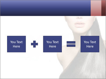 Beauty Brunette Fashion Model PowerPoint Template - Slide 95
