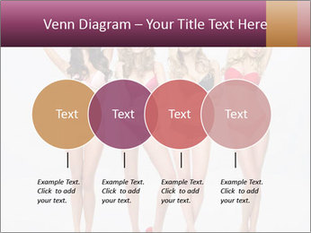 Beautiful women in full growth pose PowerPoint Templates - Slide 32