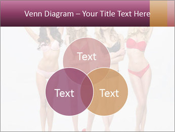 Beautiful women in full growth pose PowerPoint Templates - Slide 33