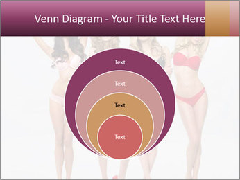 Beautiful women in full growth pose PowerPoint Template - Slide 34