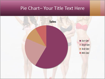 Beautiful women in full growth pose PowerPoint Templates - Slide 36
