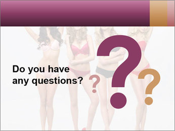 Beautiful women in full growth pose PowerPoint Templates - Slide 96