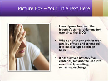 Sad woman PowerPoint Template - Slide 13