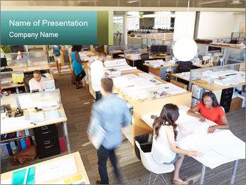 Plan Office PowerPoint Template - Slide 1