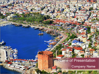 Turkish Riviera PowerPoint Templates - Slide 1