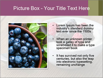 Bowl of fresh mixed berries PowerPoint Template - Slide 13