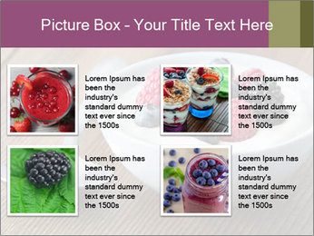 Bowl of fresh mixed berries PowerPoint Template - Slide 14
