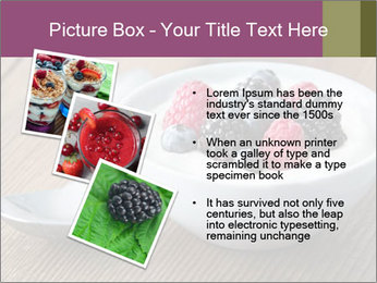 Bowl of fresh mixed berries PowerPoint Template - Slide 17