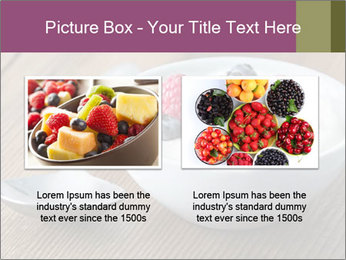 Bowl of fresh mixed berries PowerPoint Template - Slide 18