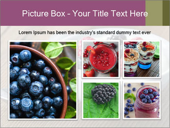 Bowl of fresh mixed berries PowerPoint Templates - Slide 19
