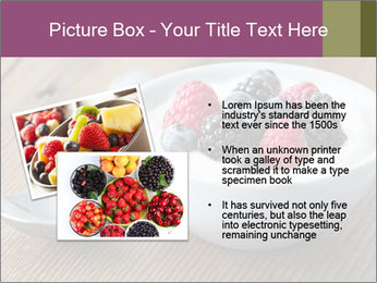 Bowl of fresh mixed berries PowerPoint Template - Slide 20