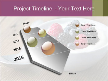 Bowl of fresh mixed berries PowerPoint Templates - Slide 26