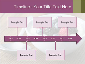 Bowl of fresh mixed berries PowerPoint Template - Slide 28
