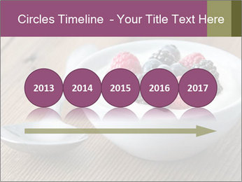 Bowl of fresh mixed berries PowerPoint Templates - Slide 29