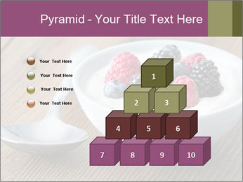 Bowl of fresh mixed berries PowerPoint Templates - Slide 31