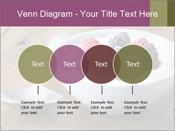 Bowl of fresh mixed berries PowerPoint Templates - Slide 32