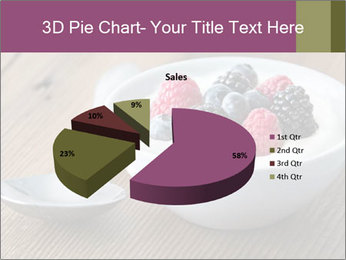 Bowl of fresh mixed berries PowerPoint Template - Slide 35