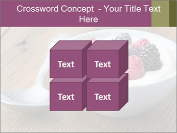 Bowl of fresh mixed berries PowerPoint Template - Slide 39