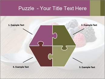 Bowl of fresh mixed berries PowerPoint Template - Slide 40