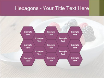 Bowl of fresh mixed berries PowerPoint Template - Slide 44