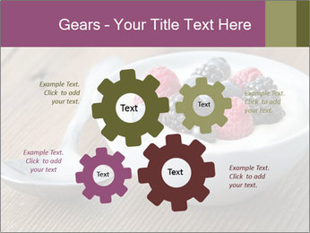 Bowl of fresh mixed berries PowerPoint Template - Slide 47