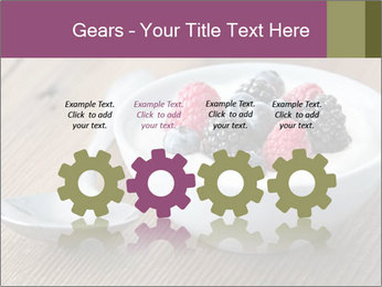 Bowl of fresh mixed berries PowerPoint Templates - Slide 48
