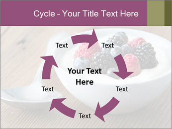 Bowl of fresh mixed berries PowerPoint Template - Slide 62