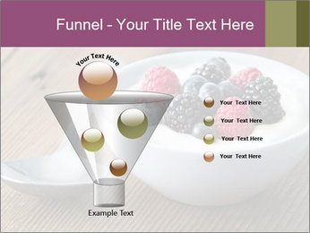 Bowl of fresh mixed berries PowerPoint Template - Slide 63