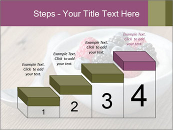 Bowl of fresh mixed berries PowerPoint Templates - Slide 64