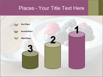 Bowl of fresh mixed berries PowerPoint Template - Slide 65