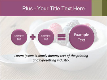 Bowl of fresh mixed berries PowerPoint Template - Slide 75