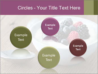 Bowl of fresh mixed berries PowerPoint Templates - Slide 77