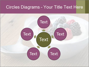 Bowl of fresh mixed berries PowerPoint Template - Slide 78