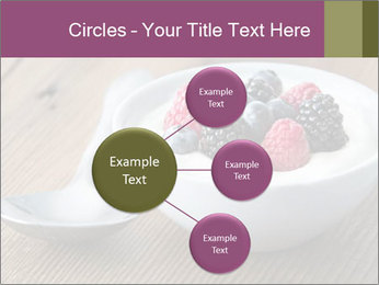 Bowl of fresh mixed berries PowerPoint Template - Slide 79