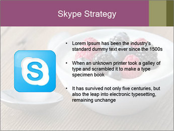 Bowl of fresh mixed berries PowerPoint Template - Slide 8