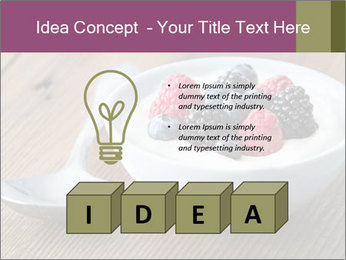 Bowl of fresh mixed berries PowerPoint Templates - Slide 80