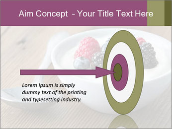 Bowl of fresh mixed berries PowerPoint Template - Slide 83