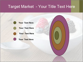Bowl of fresh mixed berries PowerPoint Template - Slide 84
