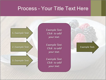 Bowl of fresh mixed berries PowerPoint Template - Slide 85