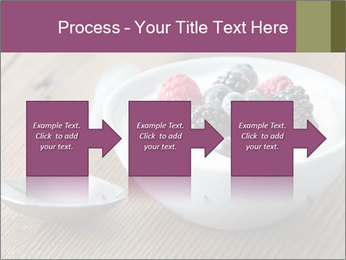 Bowl of fresh mixed berries PowerPoint Template - Slide 88