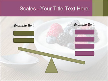 Bowl of fresh mixed berries PowerPoint Template - Slide 89