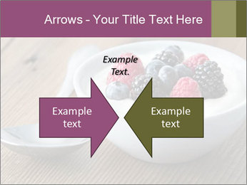 Bowl of fresh mixed berries PowerPoint Template - Slide 90