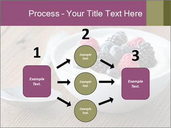 Bowl of fresh mixed berries PowerPoint Template - Slide 92