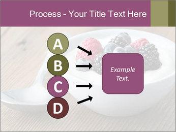 Bowl of fresh mixed berries PowerPoint Template - Slide 94