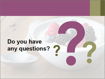 Bowl of fresh mixed berries PowerPoint Template - Slide 96