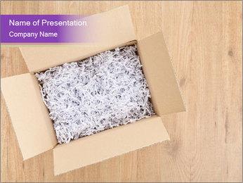 An open box PowerPoint Templates - Slide 1