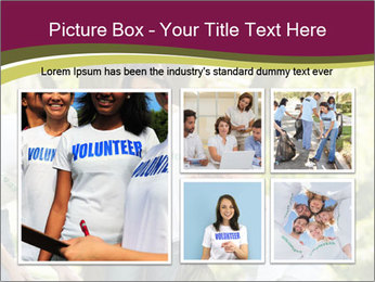 Team of young volunteers PowerPoint Templates - Slide 19