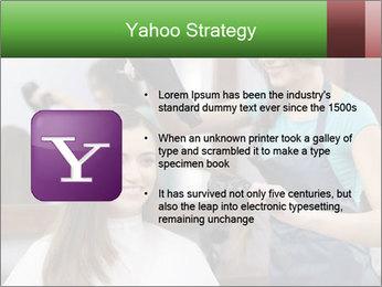 Female hairdresser PowerPoint Templates - Slide 11